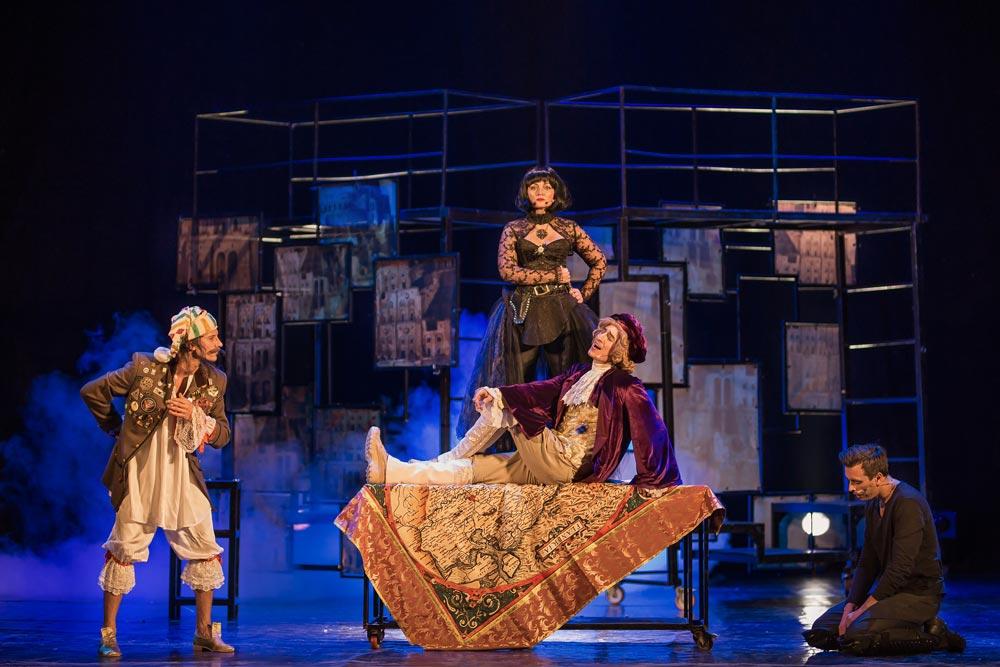 Фрагмент спектакля «Страсти по Тилю» - Постановка в театре «Территория мюзикла»