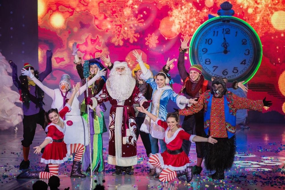 Поздравление Деда Мороза театр Территория мюзикла