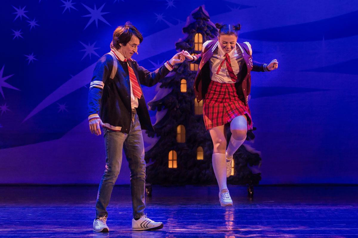 Сцена из спектакля «Маша и Витя против «Диких гитар» театра «Территория мюзикла»