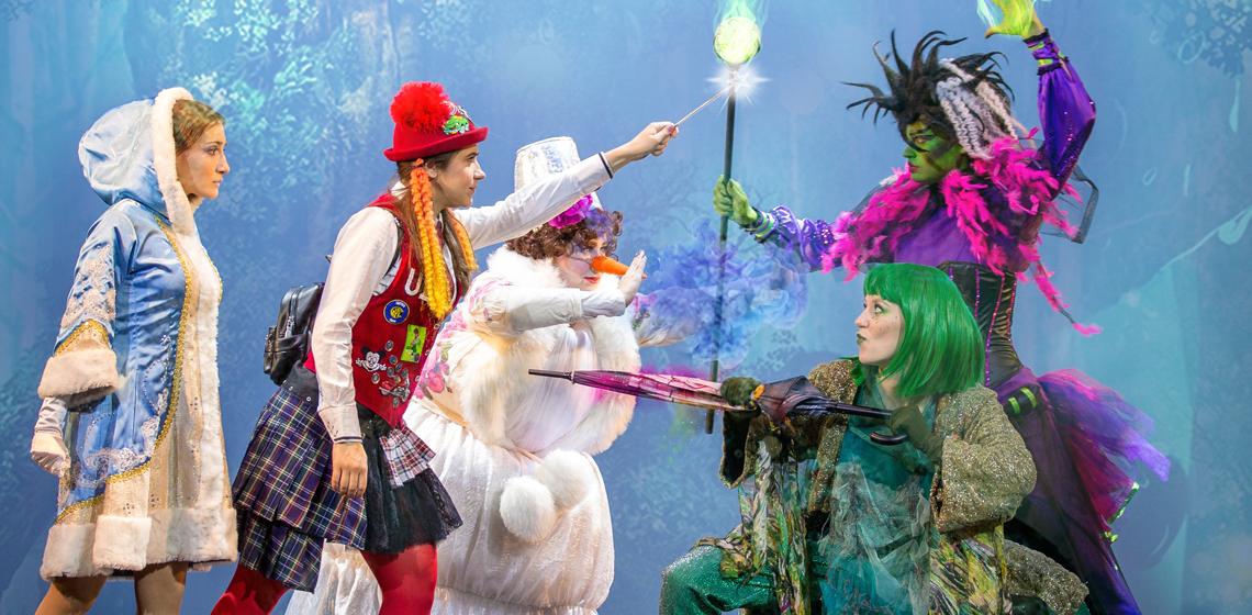 Новогодняя битва магов. Детский новогодний спектакль в Минске. Театр Территория мюзикла
