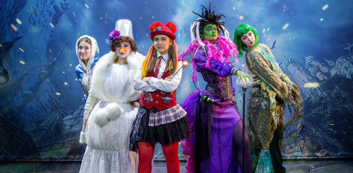 Новогодняя битва магов - Детский новогодний спектакль - Театр Территория мюзикла Минск