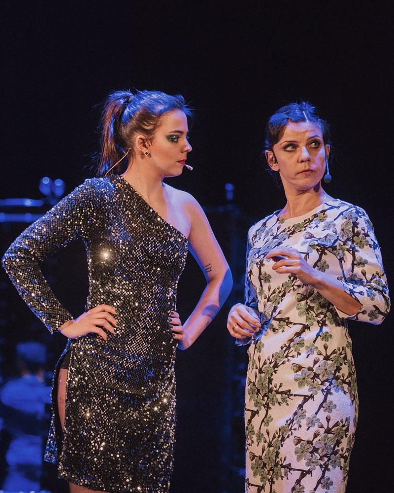 Фото с репетиции концерта театра Территория мюзикла Чего хочет женщина