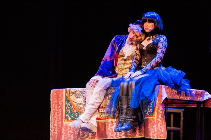 Отрывок из спектакля Территории мюзикла Страсти по Тилю
