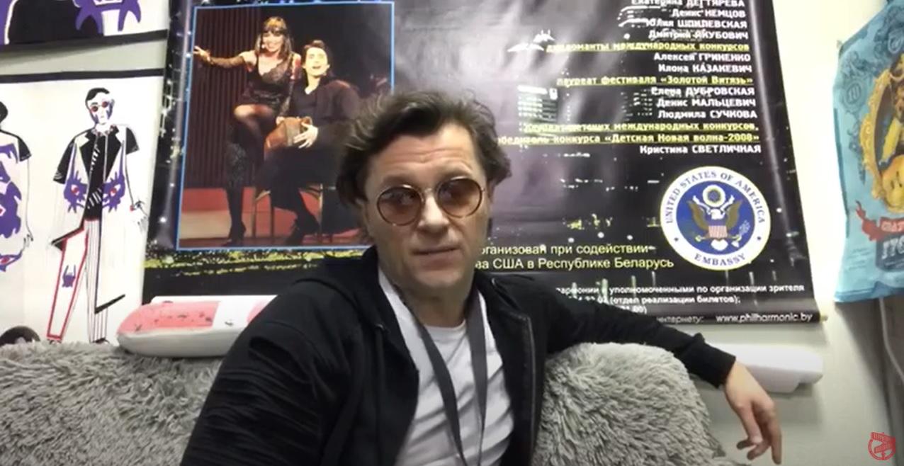 Дмитрий Якубович. Фрагмент видеообращения.